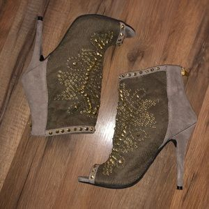 Zigi Soho embellished booties